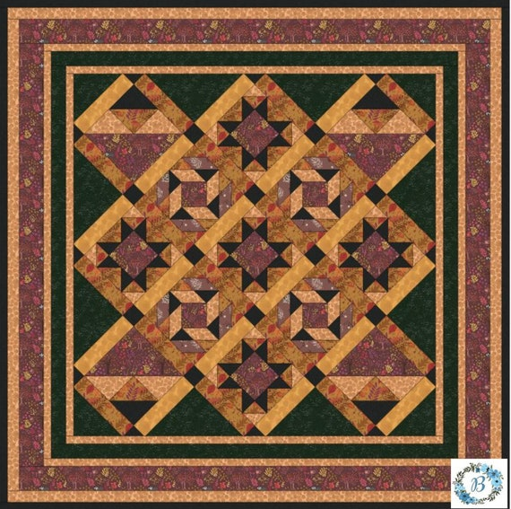 Under the Oak Tree - Kit for a Lap Size Quilt Top