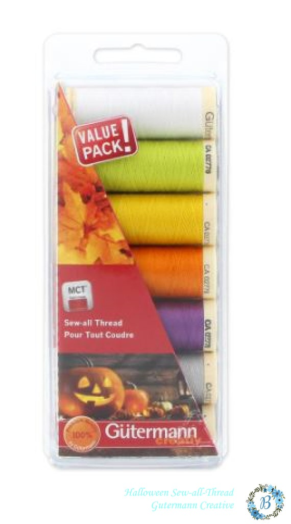 Thread Sets By Gutermann  Value Pack - Create  unique designs with Gutermann Threads