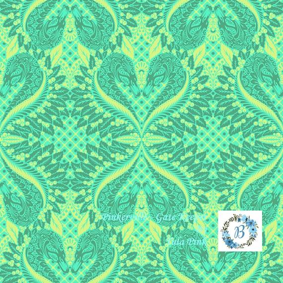 Pinkerville - GateKeeper  - Frolic by Tula Pink for Free Spirit Half Metre Cuts