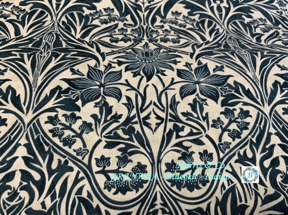 GRANADA - Bluebell - Indigo  -  The Original Morris & Co.,  Be a part of the Arts and Crafts Movement Today
