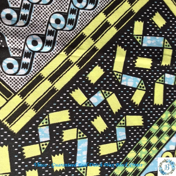 VLISCO - Made and Printed in Holland Guaranteed Real Dutch Java Print - Wax Block Rollers