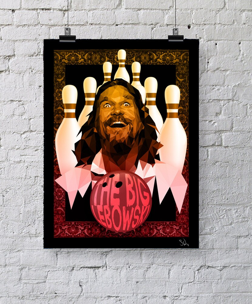 Nice Marmot Hey Alternative The Big Lebowski Movie Poster