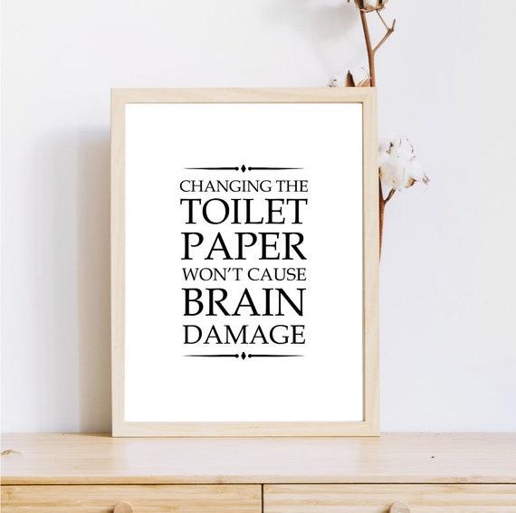 Lustige Badezimmer Zitat Badezimmer Regeln Badezimmer Dekor Etsy