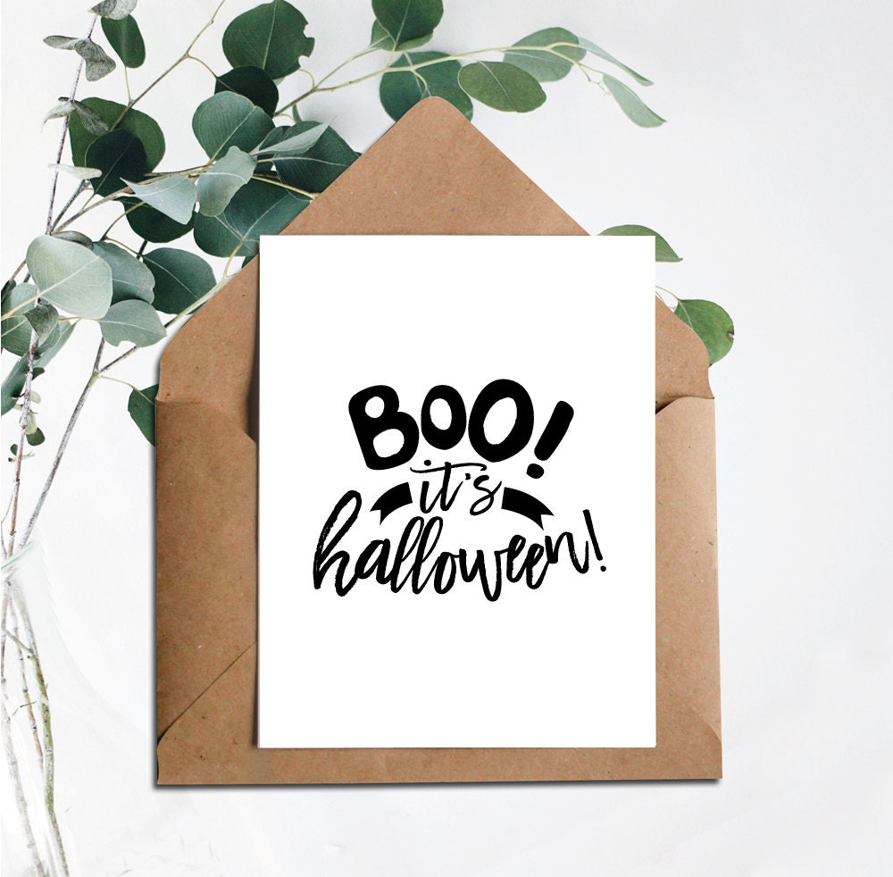 graphic about Printable Halloween Card named Printable Card, Amusing Halloween Card, Halloween Card Electronic, Printable Halloween, Boo Its Halloween, Halloween, Satisfied Halloween Card, Boo