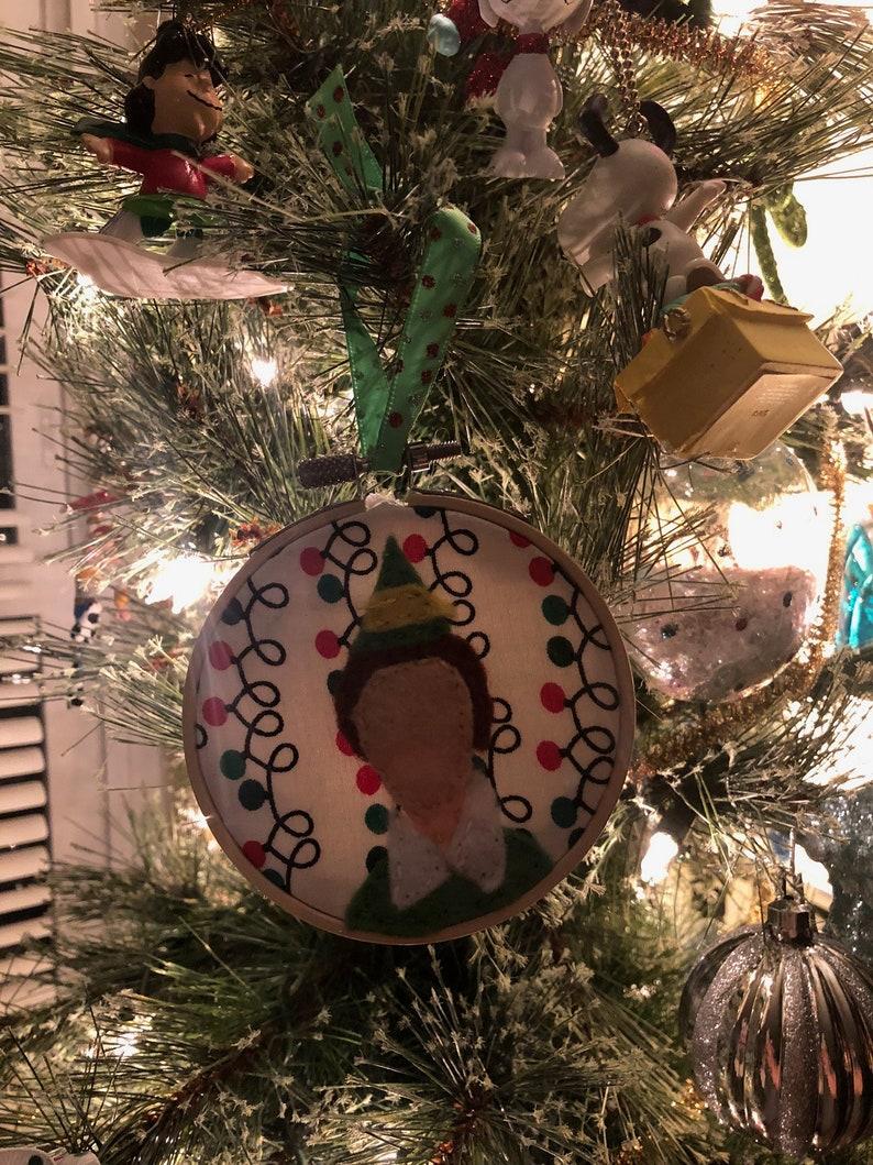 Buddy The Elf Christmas Ornament Etsy