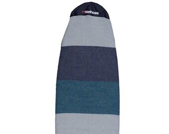 Northcore Retro Stripe Mini-Mal & Longboard Surfboard Sock