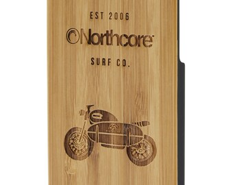 Northcore iPhone 6 cas de bambou : moto