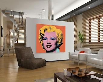 Personalised Custom Pop Art Canvas Pet Baby Portrait Andy Warhol Home Decor