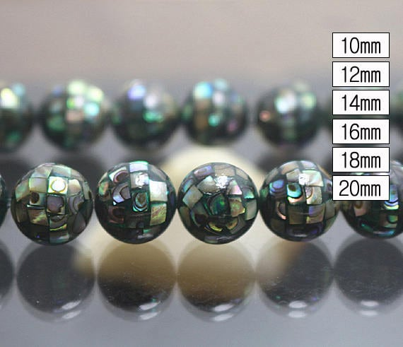Natural Abalone Mosaic Beads,14x25x27mm,Oval Abalone Mosaic Beads Wholesale.Wholesale Beads.