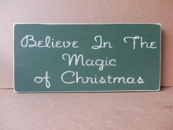 Believe Signs Decor New Believe In The Magic Of Christmas Country Decor Wood Signs