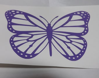 Butterfly Decal, Decal for laptop, yeti cup,mug, phone, car decal
