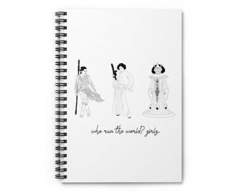 Star Wars Girls Notebook   Star Wars Feminism Spiral Notebook - Ruled Line