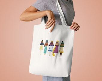 Disney Princess Tote Bag Reading Books