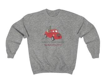 Disney Christmas Shirt Walt's Tree Farm Unisex Sweatshirt