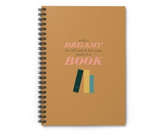 Disney Belle Notebook   Disney Beauty and the Beast Inspired Notebook   Spiral Notebook - Ruled Line