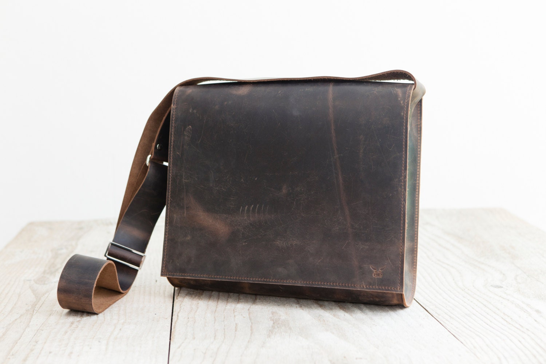 Postman bag L high quality leather bag Business Bag handmade in ... 98ba20aebe3b1
