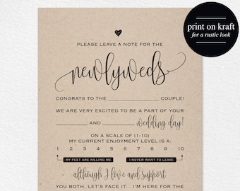 Wedding mad libs printable template wedding keepsake etsy wedding mad libs mad lib printable wedding advice mad lib guest book mad libs mad lib advice wedding game instant download bpb20320 maxwellsz