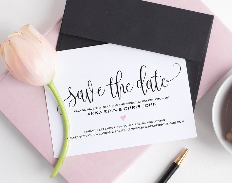 Save the Date Template Save the Date Cards Save the Date image 0