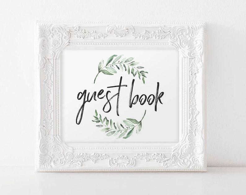 Guest Book Wedding Guest Book Sign Guest Book Ideas Guest image 0