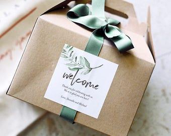 Wedding Favor Labels, Wedding Favor Boxes Labels, Favor Stickers, Favor Labels, Favor Boxes Wedding Labels, PDF Instant Download #BPB330_88