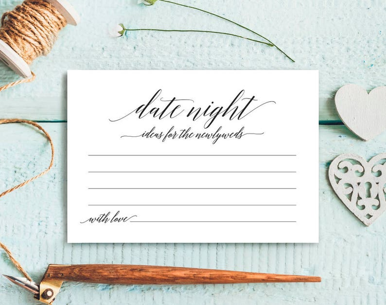 Date Night Cards Date Night Ideas Date night idea cards image 0