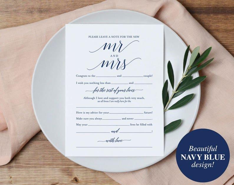 Navy Wedding Mad Libs Mad Libs Wedding Wedding Madlibs image 0