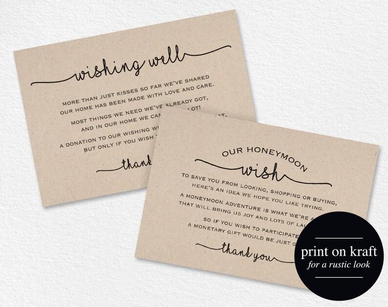 Wishing Well Cards Wedding Wishing Well Wishing Well image 1