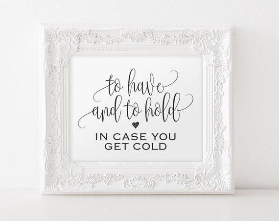 Cards & Stationery to have and to hold in case you get cold wedding funny card 5x7 inches blank