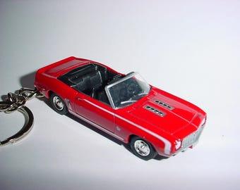 91ed4b8cf573 New 3D 1969 Red Chevrolet Camaro SS Custom Keychain keyring key chain by  Brian Thornton summer of 69