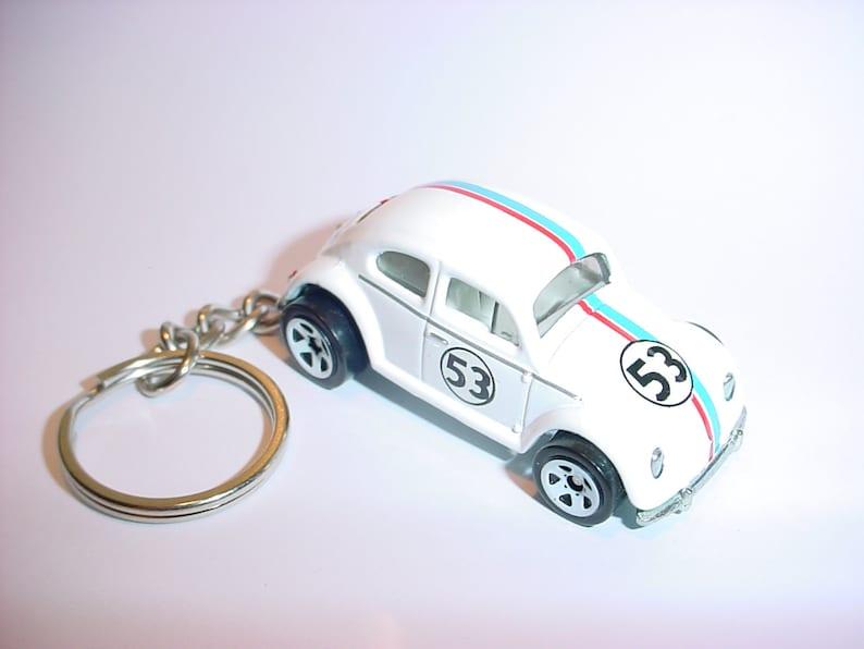 3D Herbie Love bug custom keychain by Brian Thornton keyring  7f9b9731ab