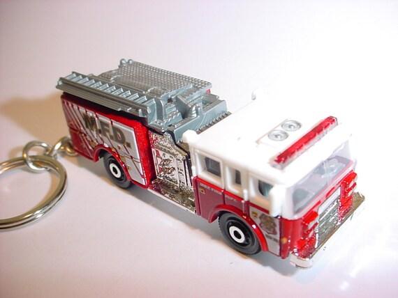 Pret Express 911 >> 3D Pierce Dash pompier porte-clé personnalisé par Brian | Etsy
