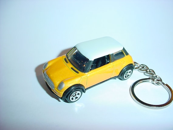3d Mini Cooper Custom Keychain By Brian Thornton Keyring Key Etsy