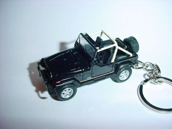 3d Jeep Wrangler Custom Keychain By Brian Thornton Keyring Key Etsy