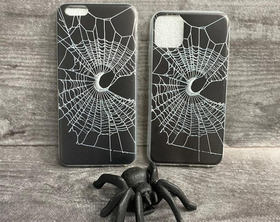 Spider Web Phone Case, Spider Web Phone Accessories, Spider Web Gifts, Phone Case