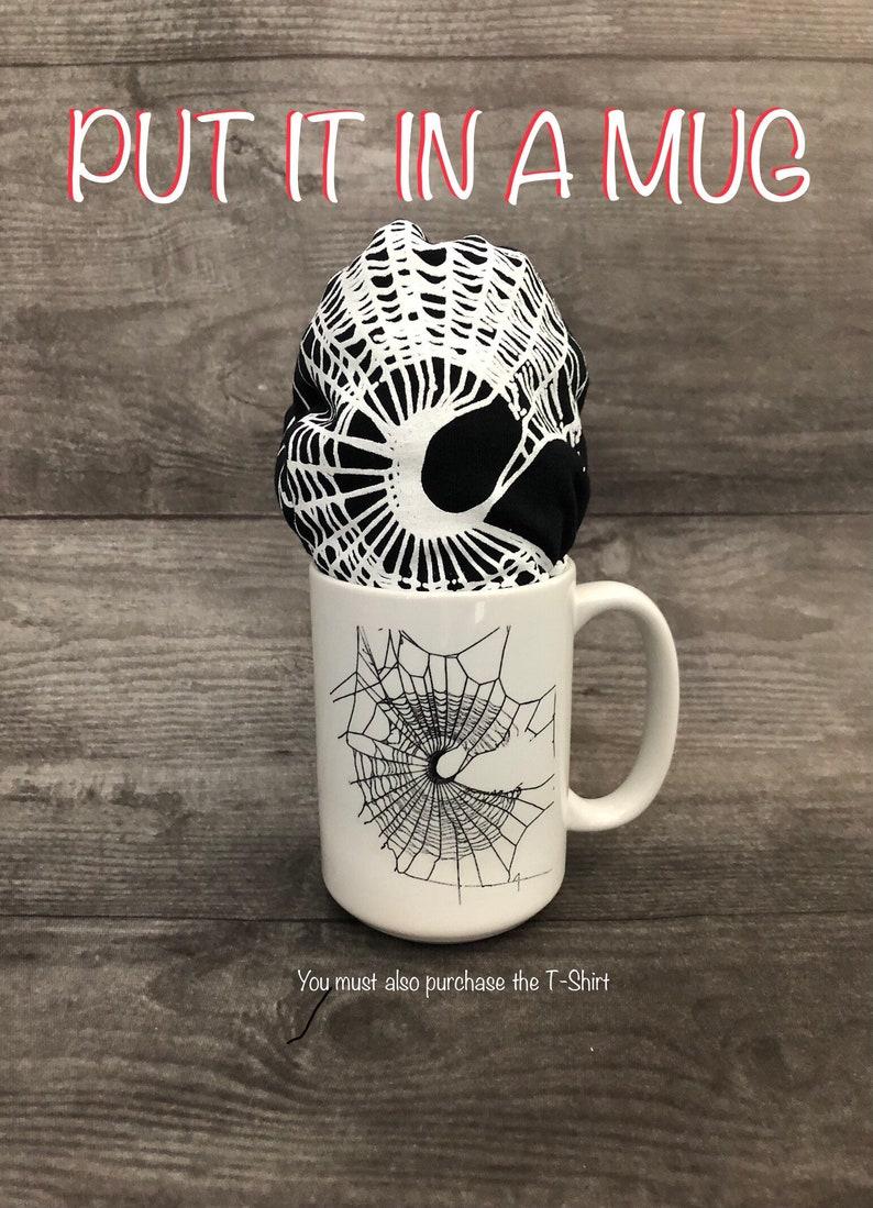 Halloween Coffee Cup Gothic Mug Halloween Mug Coffee Cup image 0