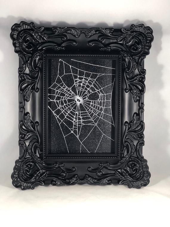 Genuine Preserved Spider Web Framed Spider Web Real Spider Web