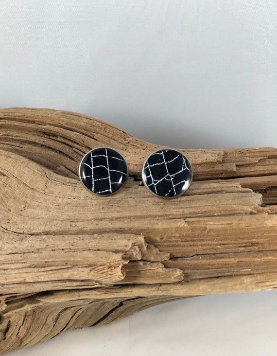 Real Spider Web, Cuff Links, Spider Web Cuff Links, Spider Web Jewelry, Jewelry from Nature, Spider Cuff Links, Resin Cuff Links