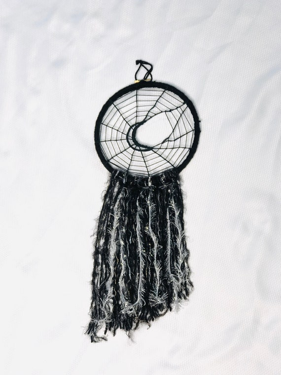 Dream Catcher, Spider Web Dream Catcher, Crescent Moon Web, Spider Web Dream Catcher