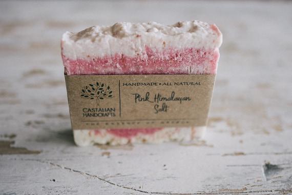 Pink Himalayan Salt soap