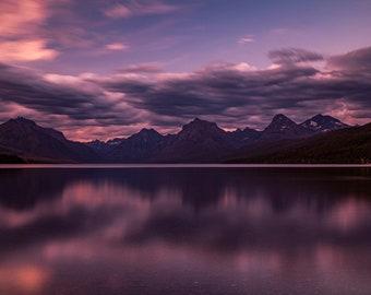 LAKE MCDONALD - Glacier National Park - Montana. 2020 photograph by Nathaniel Shannon