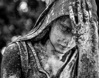 UNTITLED - Forest Hills Cemtery - Ann Arbor, MI. 2012 photograph by Nathaniel Shannon