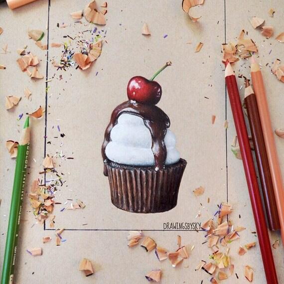Realistic Food Art Drawing