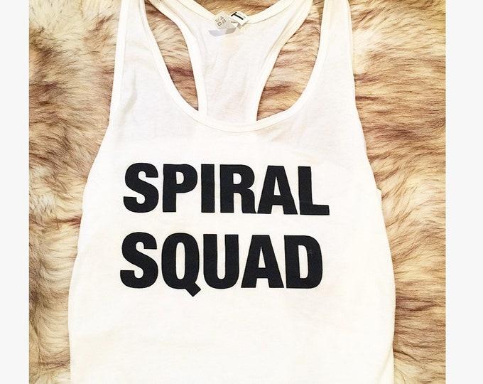 Spiral Squad Tank Snooki Shirt Jersey Shore Shirt