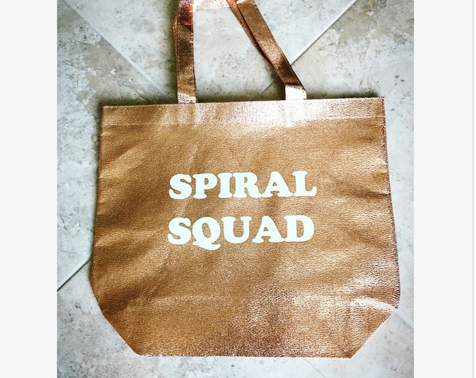 Spiral Squad Tote Bags Bacherloette Bags