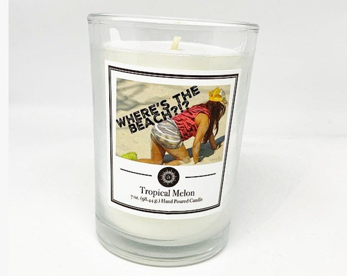 Snooki Candle Jersey Shore Candle Beach Candle Tropical Candle