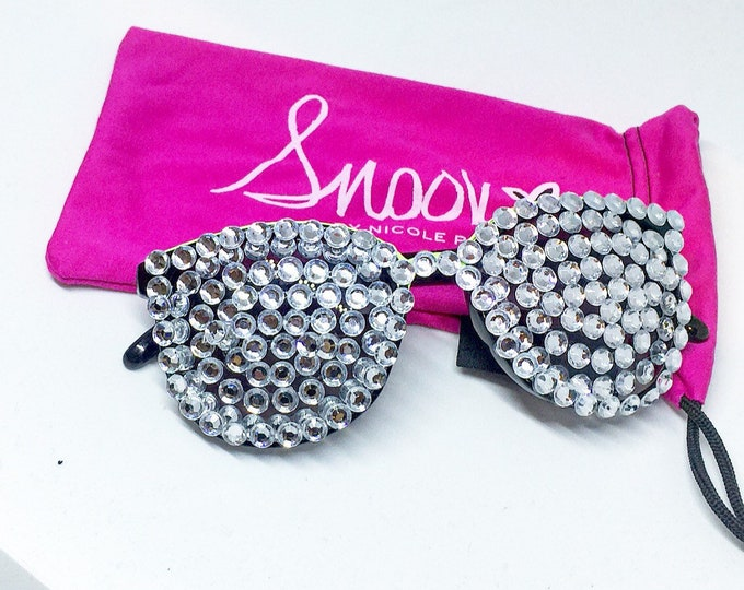 Snooki Sunglasses Jersey Shore Sunglasses Rhinestone Sunglasses