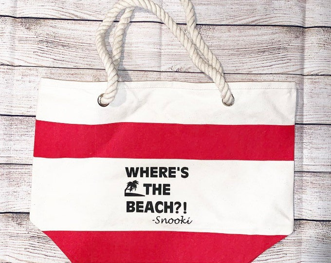 Snooki Beach Bag Jersey Shore Beach Bag