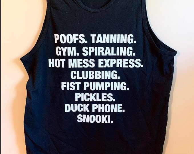 Oversized Snooki Shirt Jersey Shore Tank