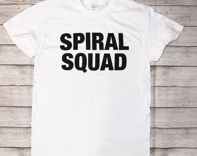 Jersey Shore Shirt Spiral Squad Tee