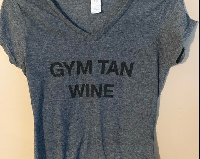 GYM TAN LAUNDRY tee